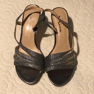 Nina Gray sparkly heels, NWOT, size 8